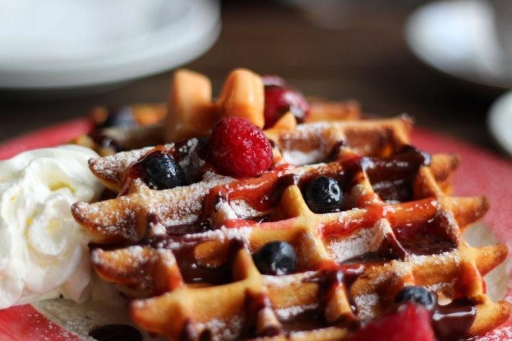 waffle-chocolate